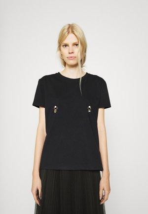 Print T-shirt - gesso