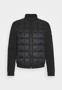 Calvin Klein Jeans - MOTO JACKET - Light jacket - black - 4