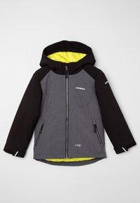 Icepeak - KAPOLEI JR - Soft shell jacket - dunkel grau - 3