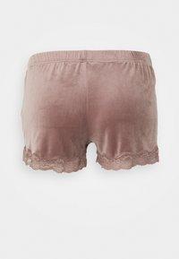 Hunkemöller - SHORT SCALLOP  - Pyjama bottoms - burnished mauve - 1