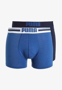 Puma - BASIC 2 PACK - Shorty - blue - 4