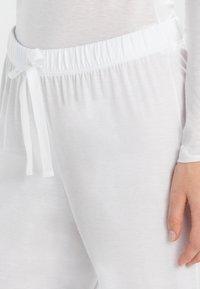 Hanro - COTTON DELUXE - Pyjama bottoms - white - 3