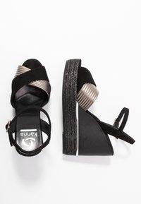Kanna - NICOLE - High heeled sandals - black - 3