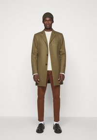 J.LINDEBERG - HENRY CABEL SWEATER - Stickad tröja - cloud white - 1