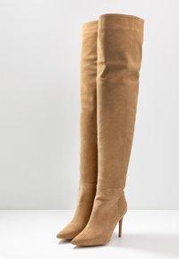 L37 - A LITTLE BIT LONGER - High heeled boots - brown - 4