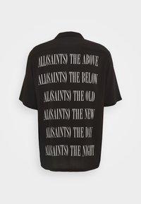 AllSaints - STAMP SHIRT - Shirt - jet black - 1