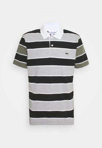 Polo shirt - argent/noir/blanc