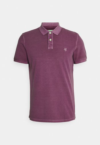 Polo shirt - super fuschia