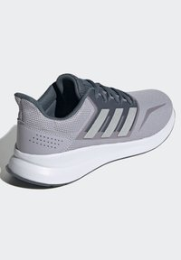 adidas Performance - RUNFALCON SHOES - Stabilty running shoes - grey - 4