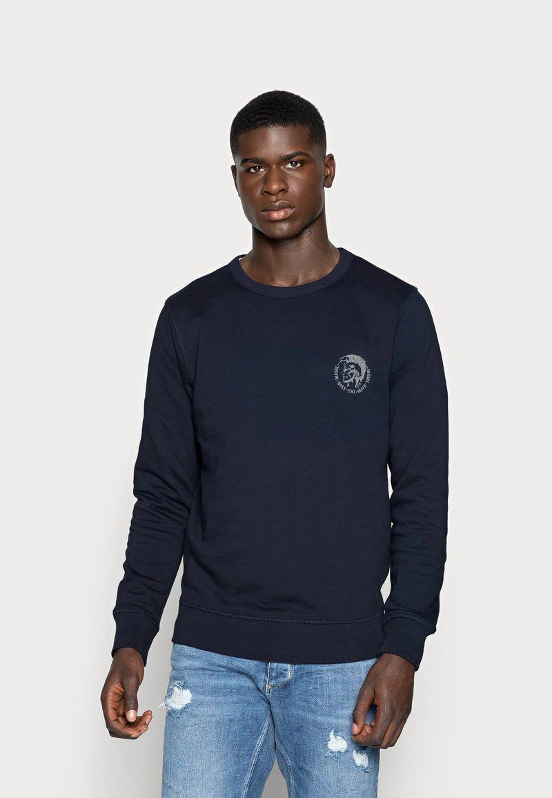 Diesel - UMLT-WILLY SWEAT-SHIRT - Sweatshirt - blau