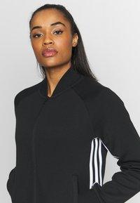 adidas Performance - MUST HAVE ATHLETICS TRACKSUIT JACKET - Sportovní bunda - black/white - 4