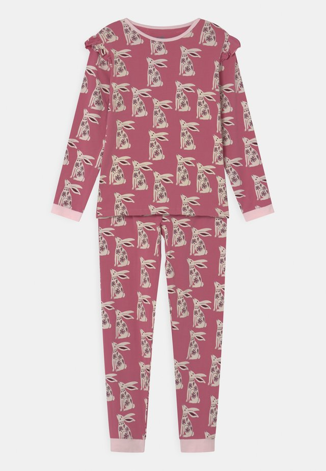 FLORENCE LONG SLEEVE - Pyjama - very berry