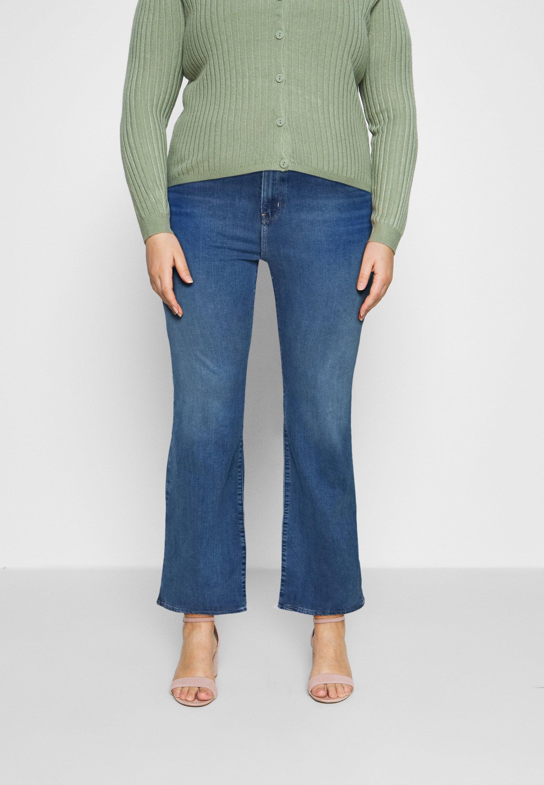Women 725 PL HR BOOTCUT - Bootcut jeans