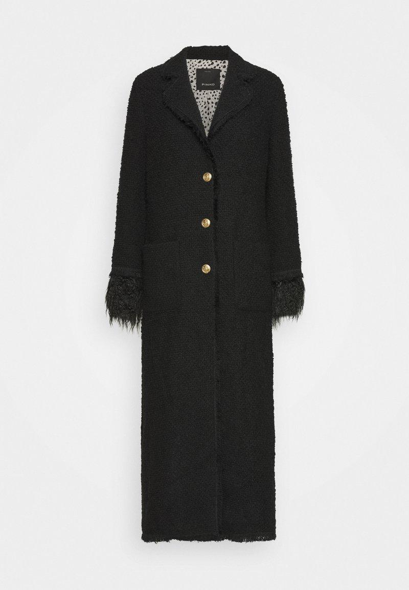 Pinko - LAMPO COAT - Classic coat - black