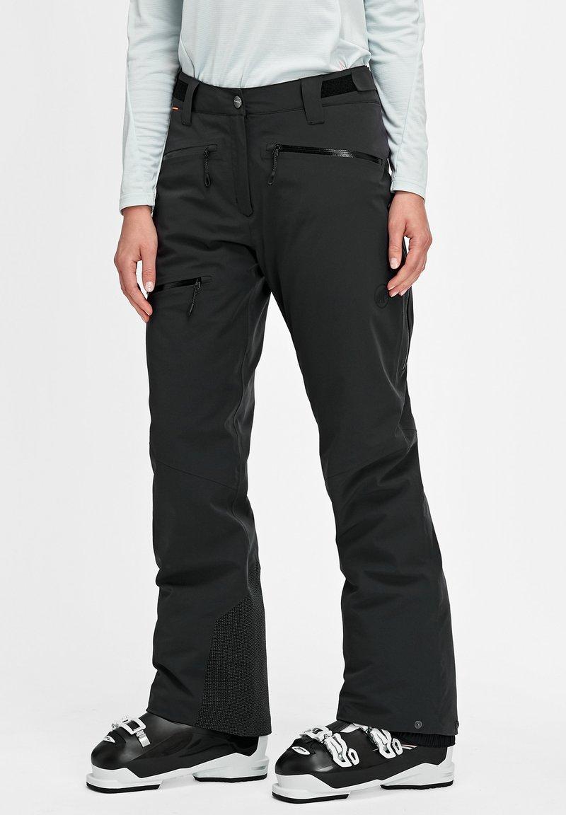 Mammut - STONEY - Snow pants - black