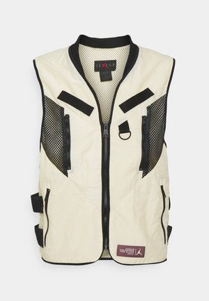 VEST - Bodywarmer - beach/black