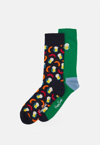 BEER SOCKS GIFT SET 2 PACK - Ponožky - multi