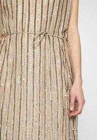 MANÉ - LAELIA DRESS - Suknia balowa - champagne/gold - 5