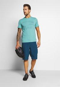 Vaude - ME CYCLIST  - T-Shirt print - lake - 1