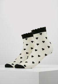 Becksöndergaard - DAGMAR HEARTS SOCK 2 PACK - Ponožky - black - 0