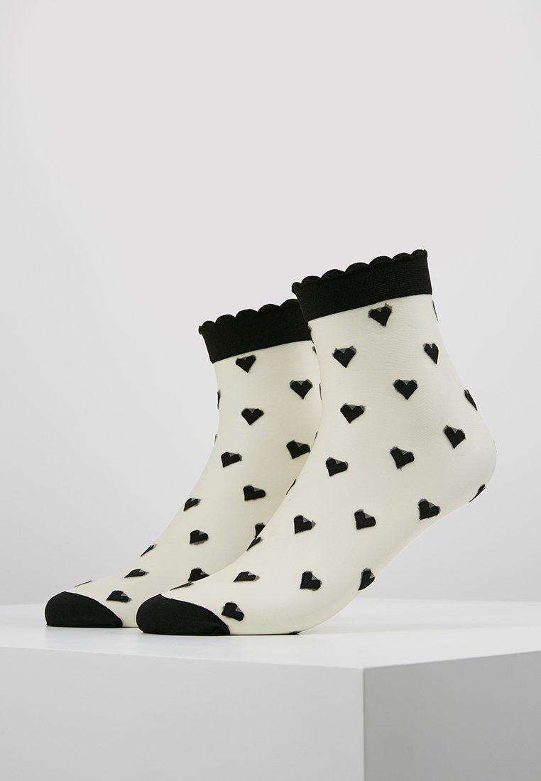 Becksöndergaard - DAGMAR HEARTS SOCK 2 PACK - Ponožky - black