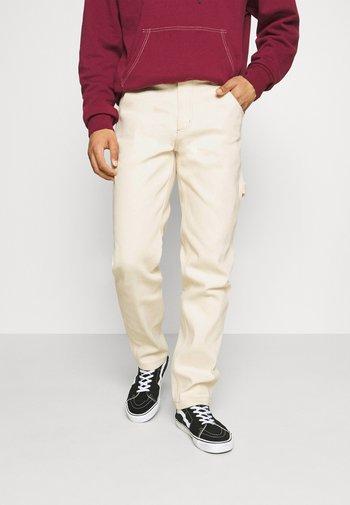 GARYVILLE - Straight leg jeans - ecru