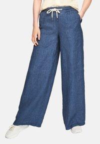 s.Oliver - Trousers - faded blue melange - 3