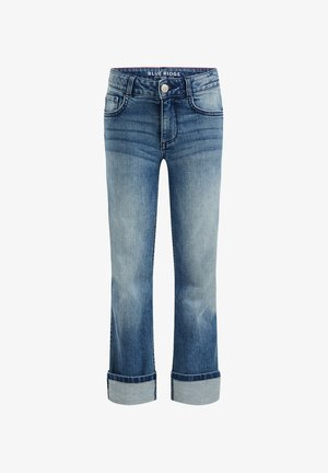 MET STRETCH - Relaxed fit jeans - dark blue
