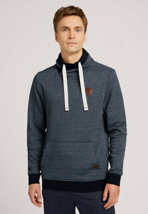 Sweatshirt - navy white grindle