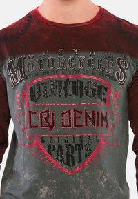 18CRR81 Cerruti - MIT COOLEM VINTAGE-PRINT - Sweatshirt - bordeaux - 0