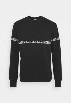 WEST FERRIDAY - Long sleeved top - black