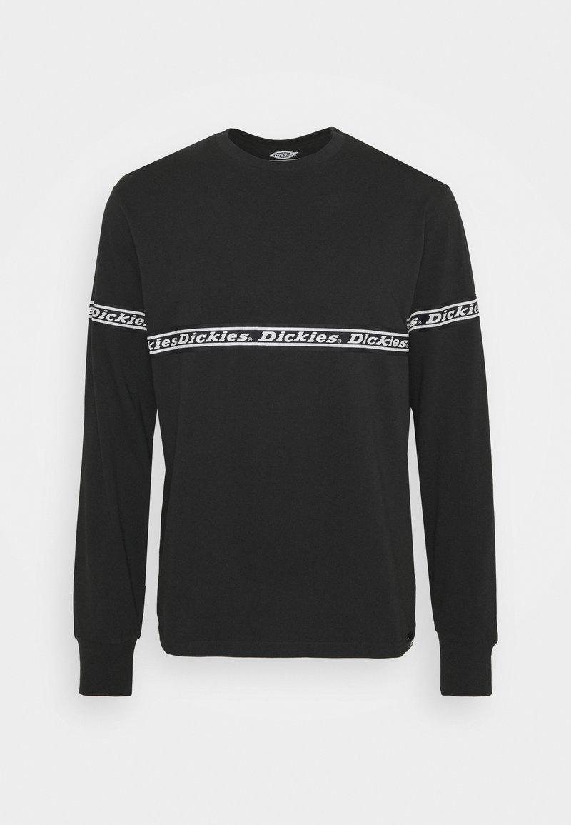 Dickies - WEST FERRIDAY - Long sleeved top - black