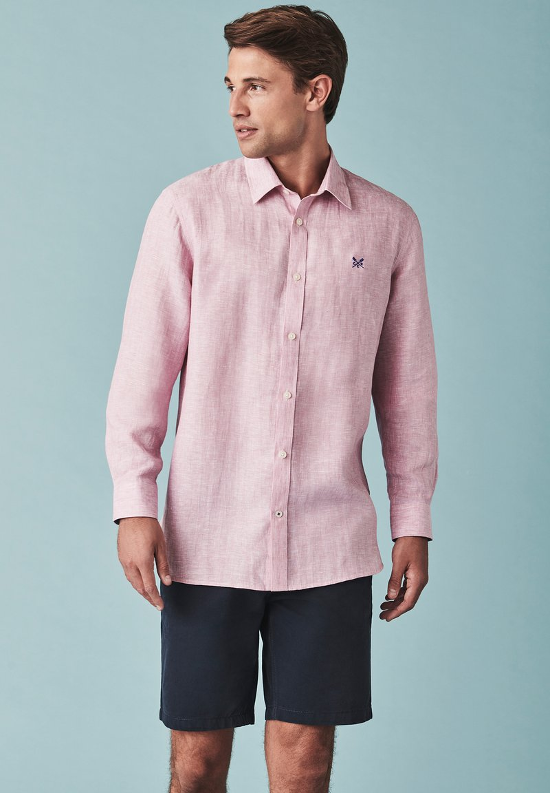 Crew Clothing Company - LINEN - Overhemd - red