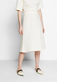 Lovechild - BABET - A-line skirt - whisper white - 0