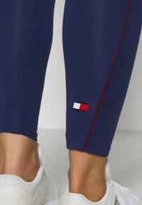 Tommy Sport - LEGGING - Leggings - blue - 4