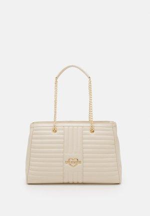 QUILTED SOFT - Handbag - avorio