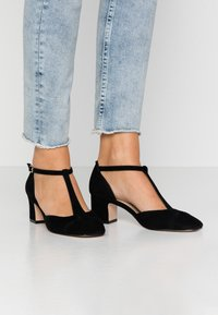 Anna Field - LEATHER PUMPS - Tacones - black - 0