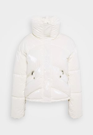 YOUNG LADIES WOVEN PADDED JACKET - Kurtka zimowa - offwhite