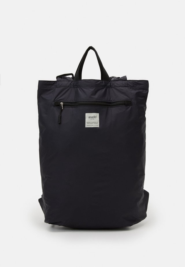SIMPLE TOTE BACKPACK - Rugzak - black