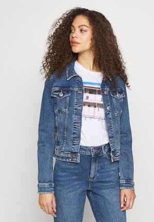 ONLTIA JACKET - Chaqueta vaquera - medium blue denim