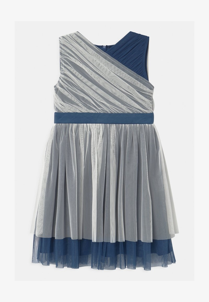 Anaya with love - CONTRAST WITH WAISTBAND - Cocktail dress / Party dress - ivory/indigo