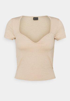 MARGOT BUSTIER - T-shirt print - smoke gray