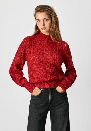 DUNIA - Neule - winter red