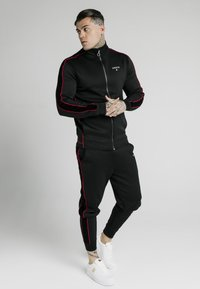SIKSILK - IMPERIAL ZIP THROUGH FUNNEL NECK - Giacca sportiva - black - 1