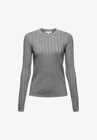 edc by Esprit - ROUND NECK FITTED - Jumper - medium grey - 2