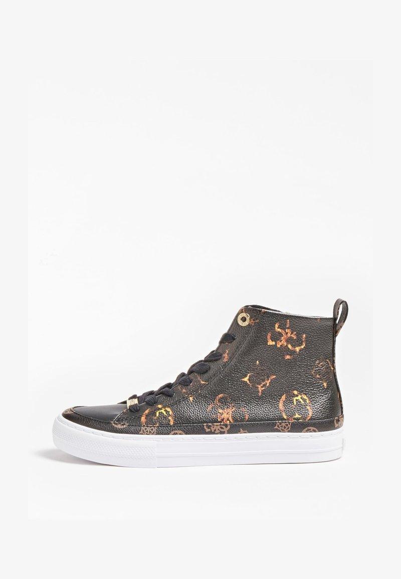 Guess - Sneakersy wysokie - schwarz