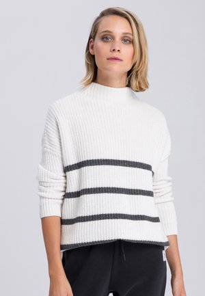 Jumper - off white varied