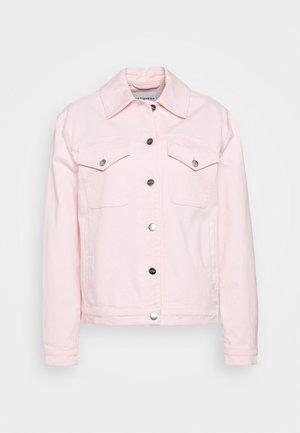 RANTA COAT - Denim jacket - light pink