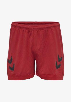 HMLLEAD  - Sports shorts - true red