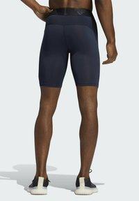 adidas Performance - TECHFIT SHORT TIGHTS - Leggings - blue - 1